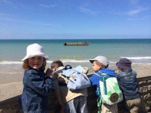 Arromanches - la plage