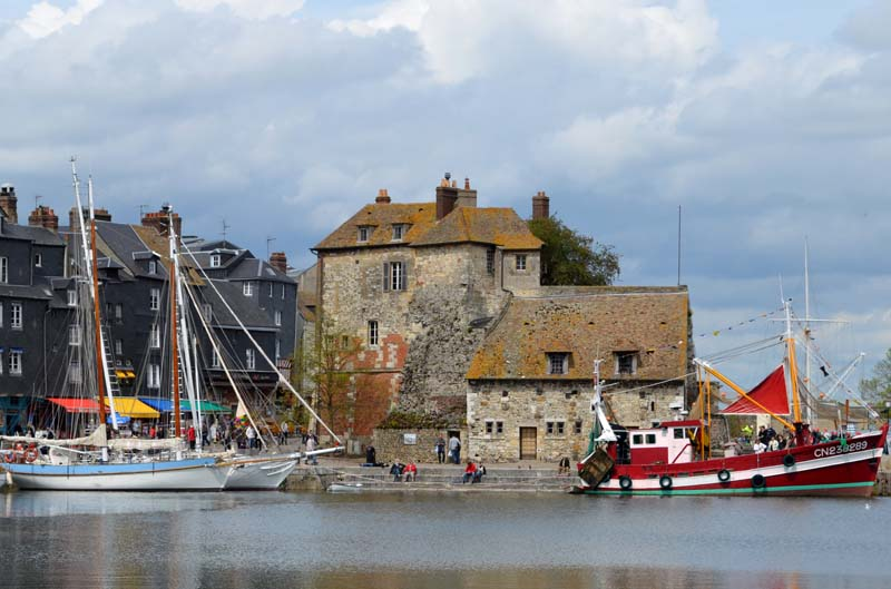 port de Honfleur Normandie