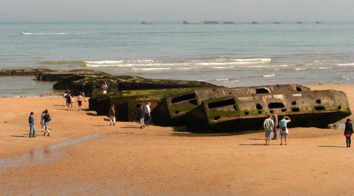 plage débarquement Arromanches